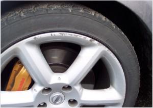 kerbed wheel