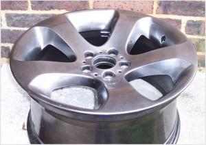 newly refinished wheel